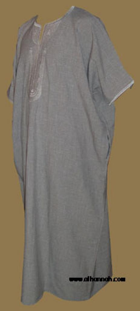 Premium Moroccan Style Embroidered Dishdasha me463