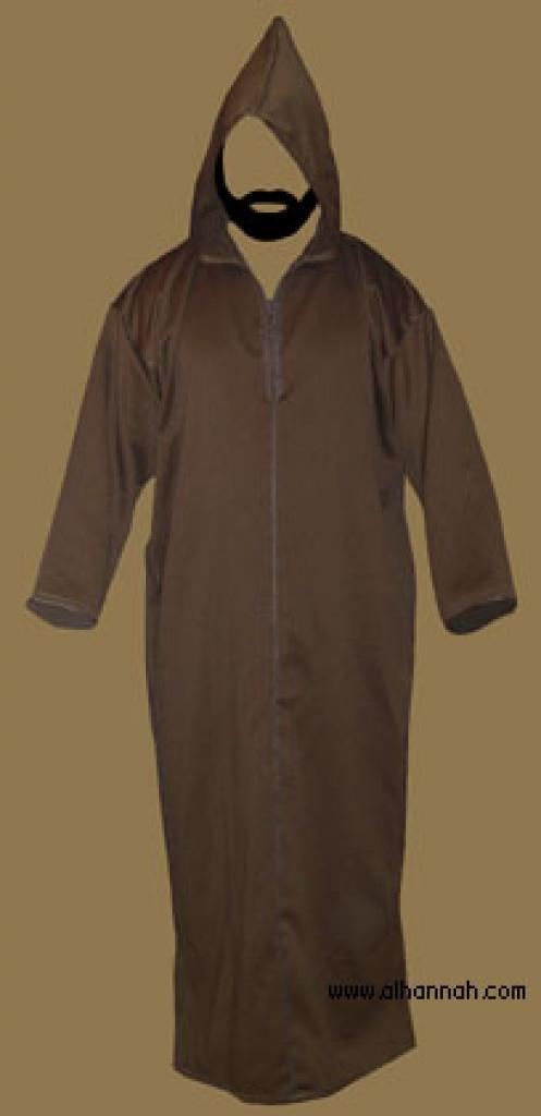 Moroccan Hooded Abaya  me464