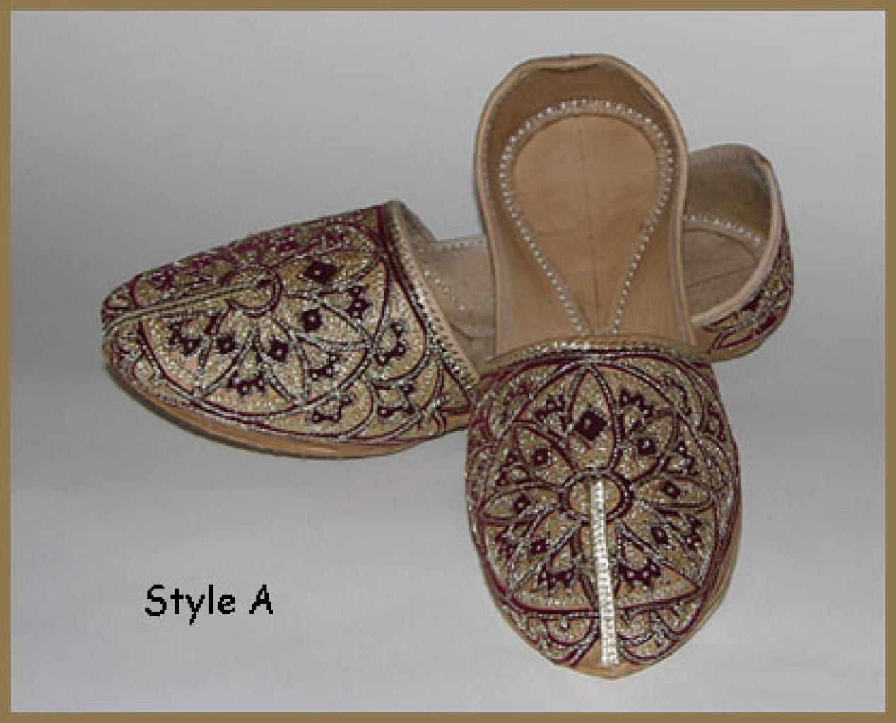 Men's Punjabi Shoes  me468