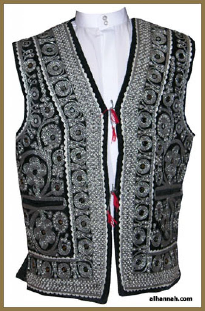 Men's Embroidered Vest   me472