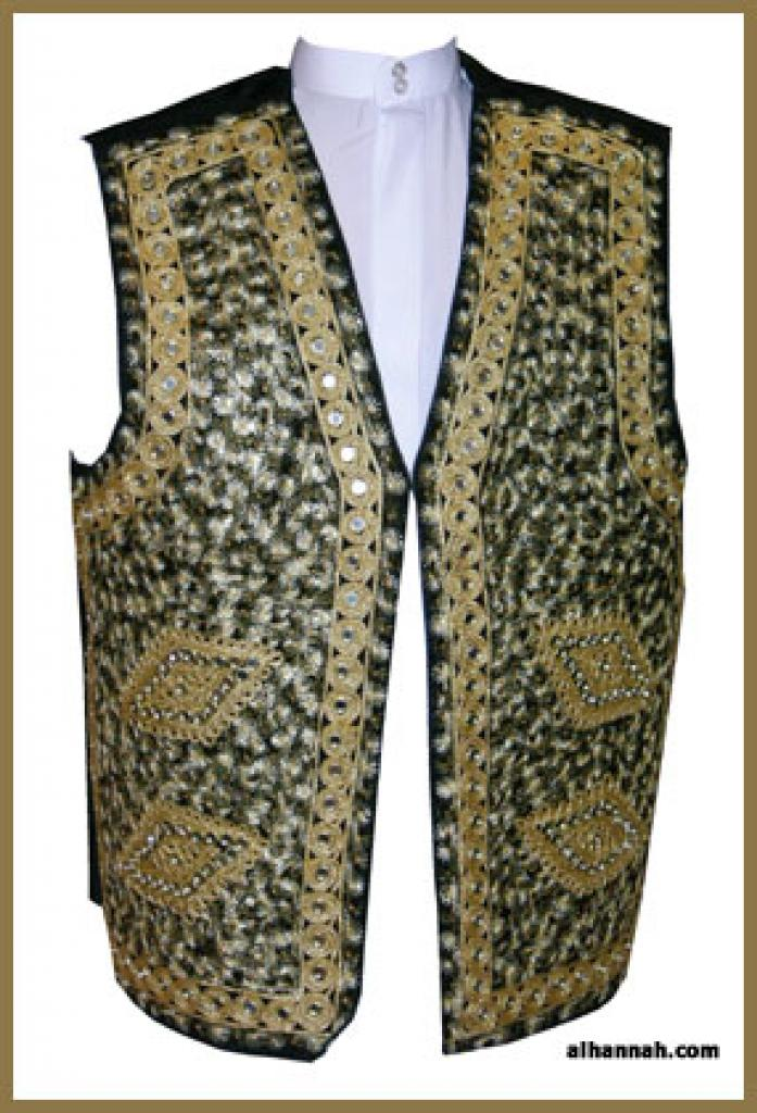 Men's Embroidered Vest me473