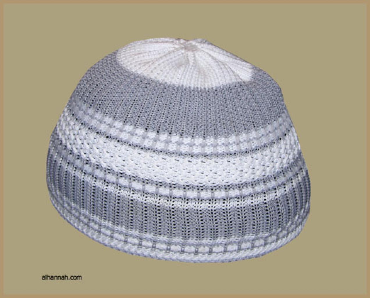 Knit Saudi Kufi me477