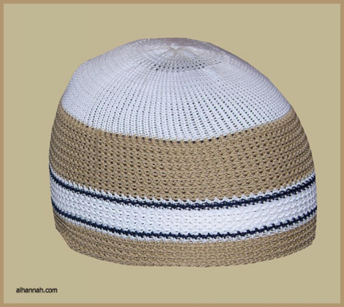 Knit Saudi Kufi  me479