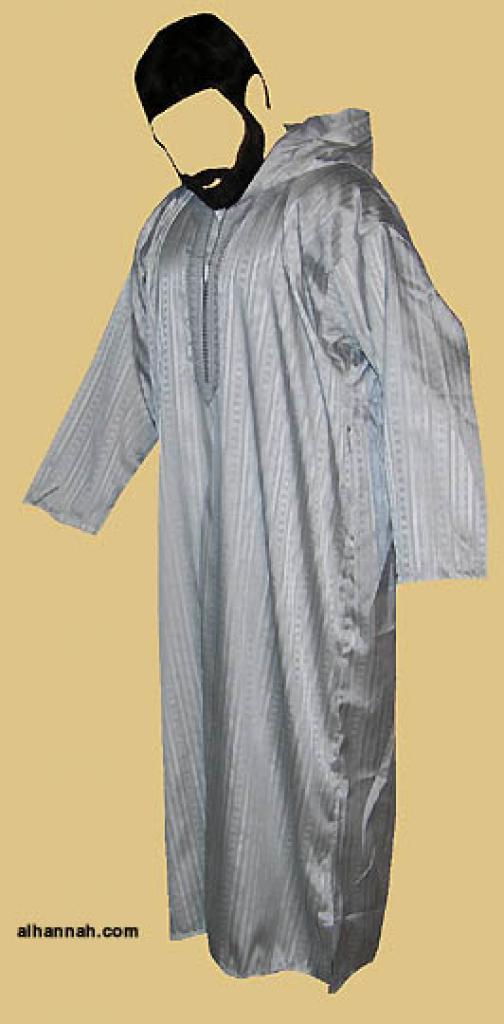 Moroccan Style Embroidered Dishdasha me481