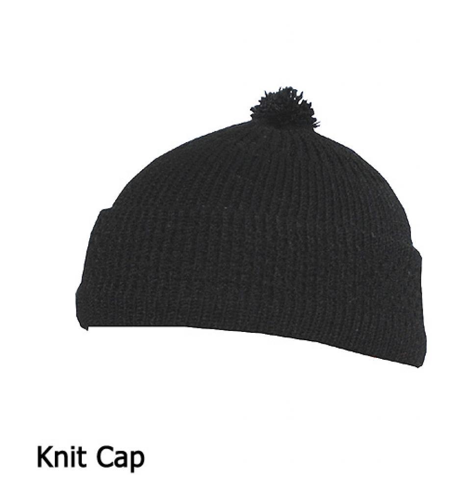 Mens Solid Color Knit Cap me524