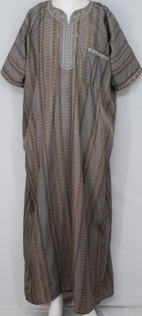 Moroccan Style Embroidered Dishdasha me558