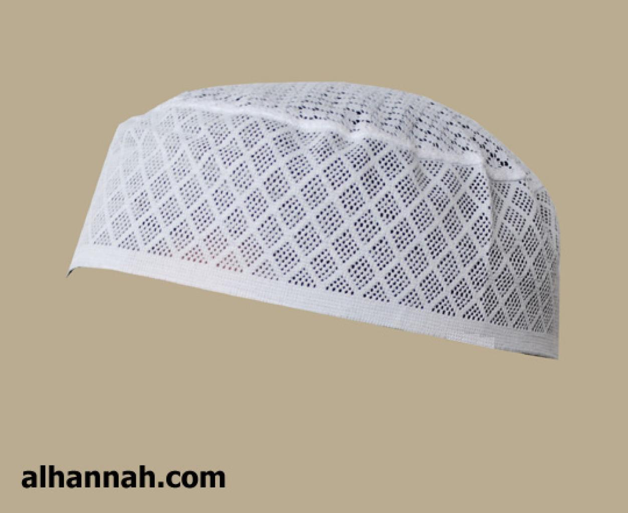 Algodón de diamante para hombre Kufi de algodón me567 - Alhannah ...