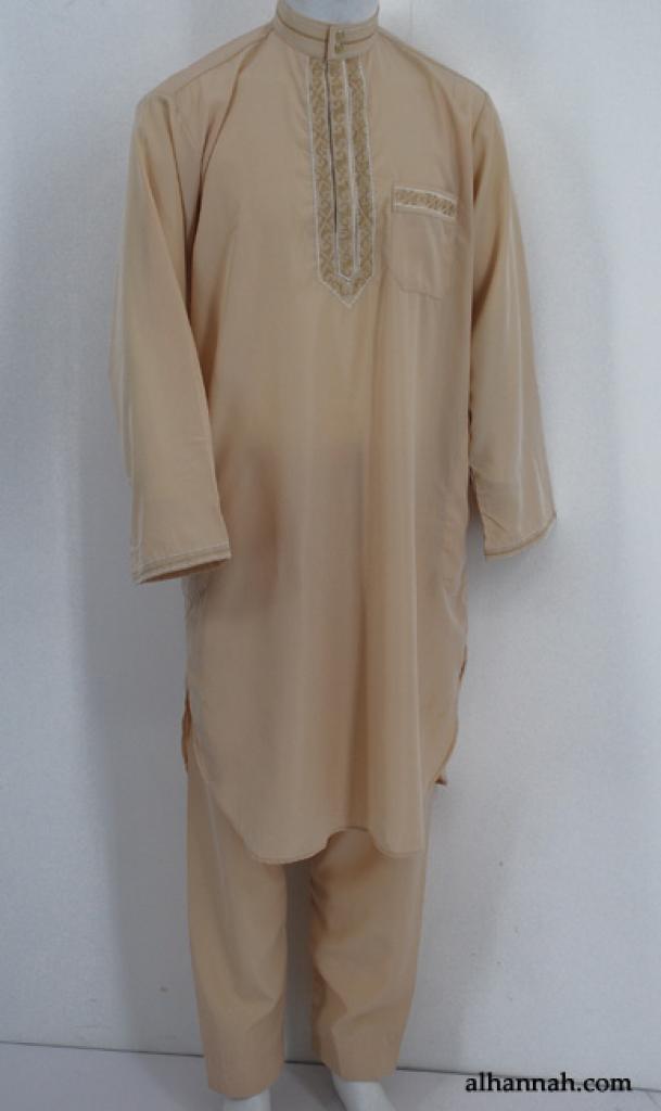 Mens Premium Embroidered Salwar Kameez me607