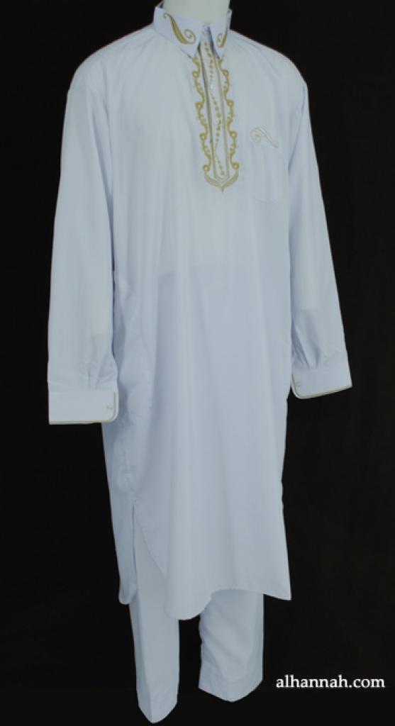 Mens Premium Embroidered Salwar Kameez me608