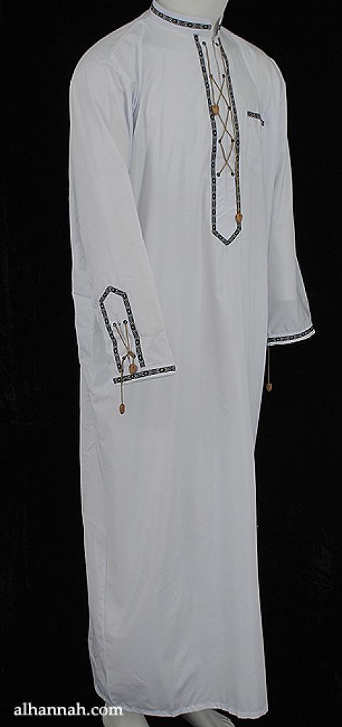 Premium Mens Tailored Dishdasha  me618