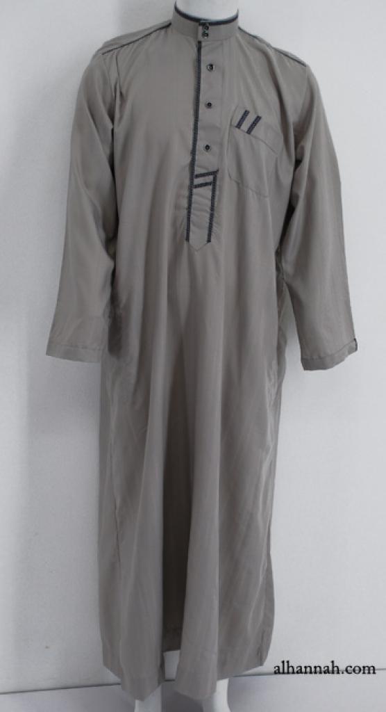 Premium Mens Tailored Dishdasha me640