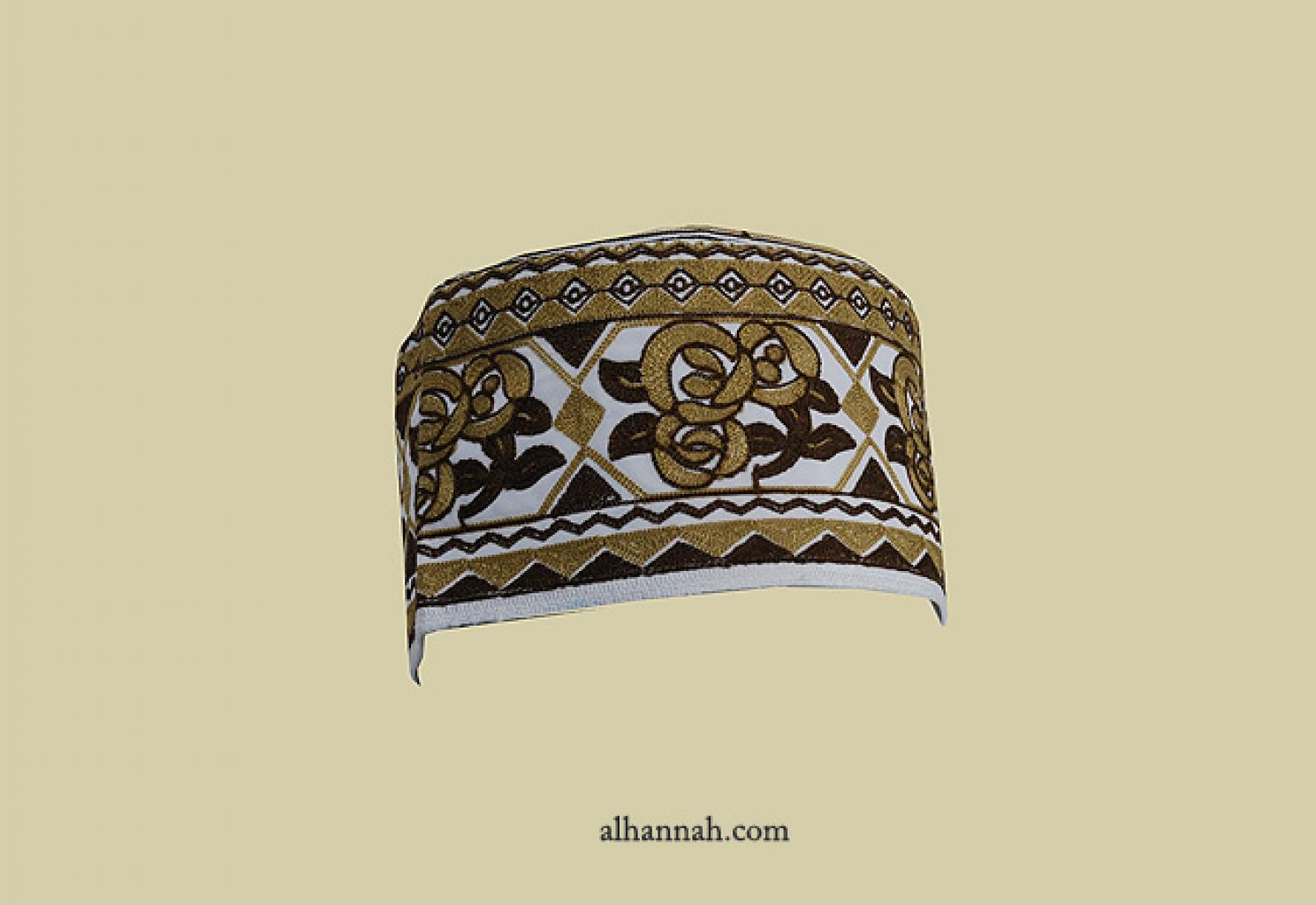 Kufi - African style - Deluxe Embroidered me647