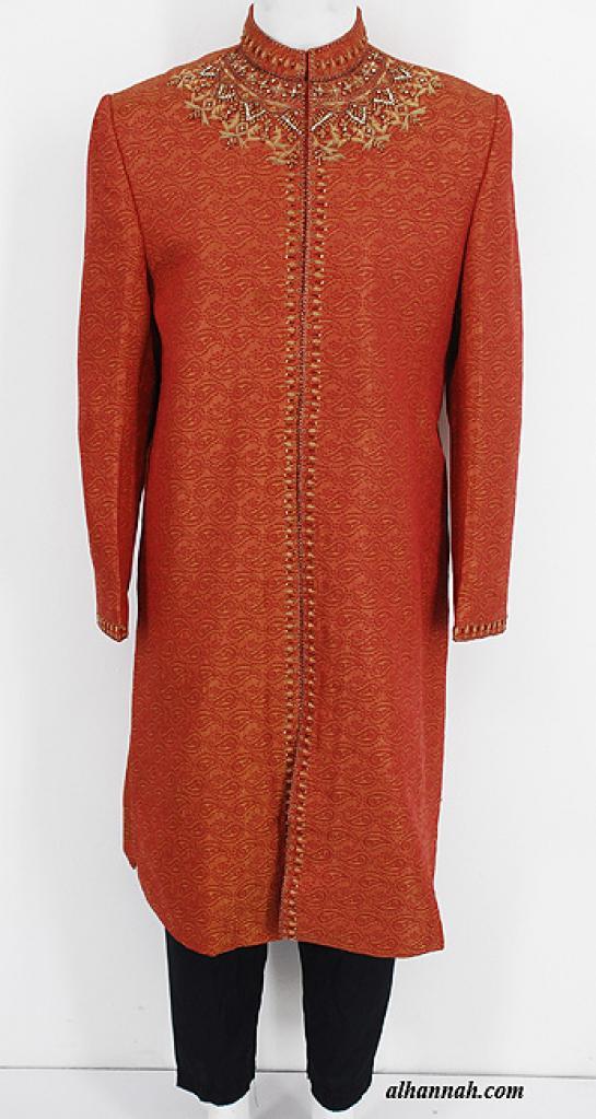 Mens Deluxe Sherwani Suit Jacket me649