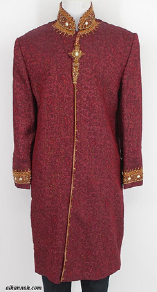 Mens Deluxe Sherwani Suit Jacket me651