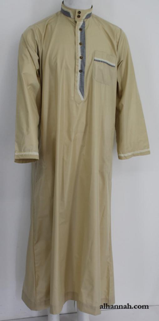 Premium Mens Tailored Dishdasha me652