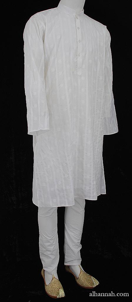 Mens 100% Cotton Kurta Pajamas me670