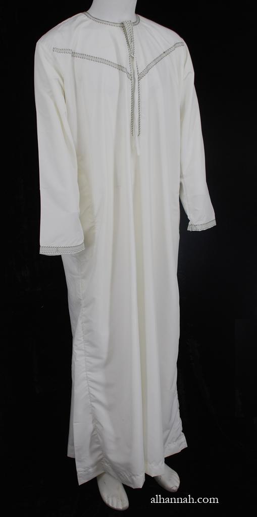 Mens Omani Style Dishdasha me672