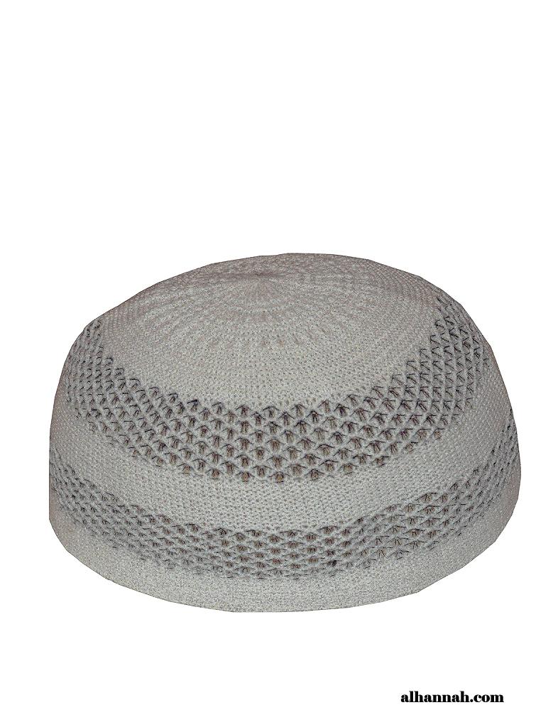 Kufi-Striped Knit style me676