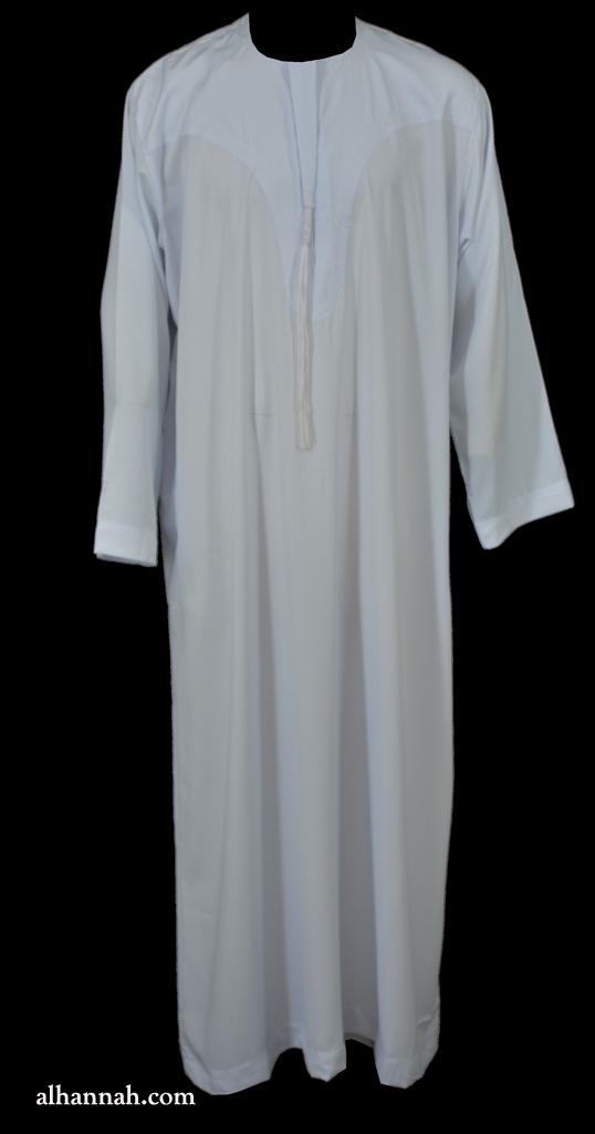 Ikaf Deluxe Yemeni Style Dishdasha me696