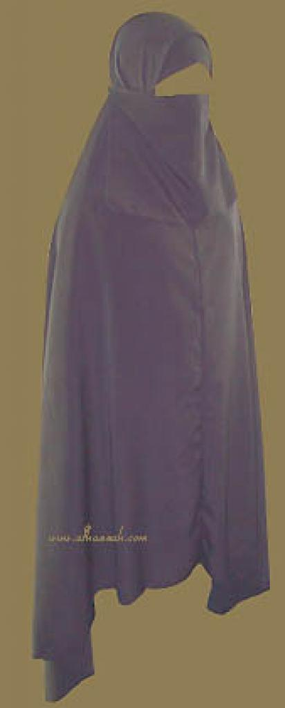 Saudi Knee Length Khimar Set ni118