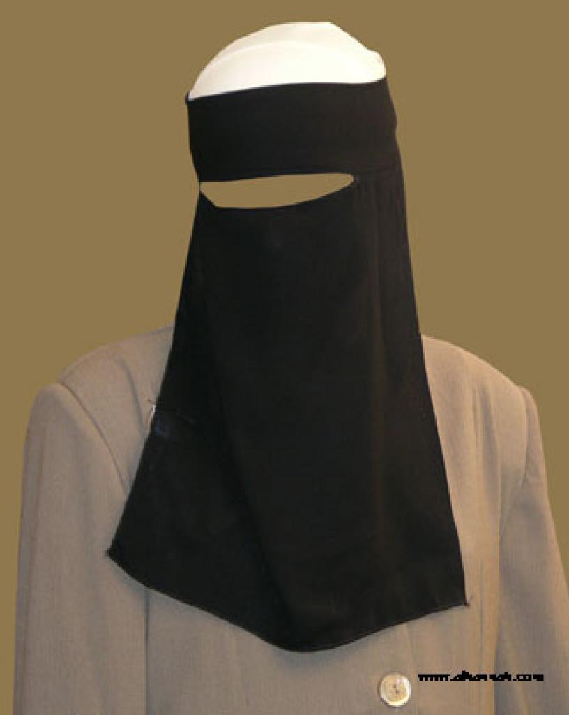 Double Layer Saudi Burqa  ni135