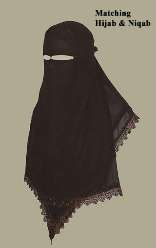 Hijab and Niqab set ni140