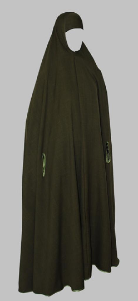 Extra-Long Knee Length Khimar  ni151