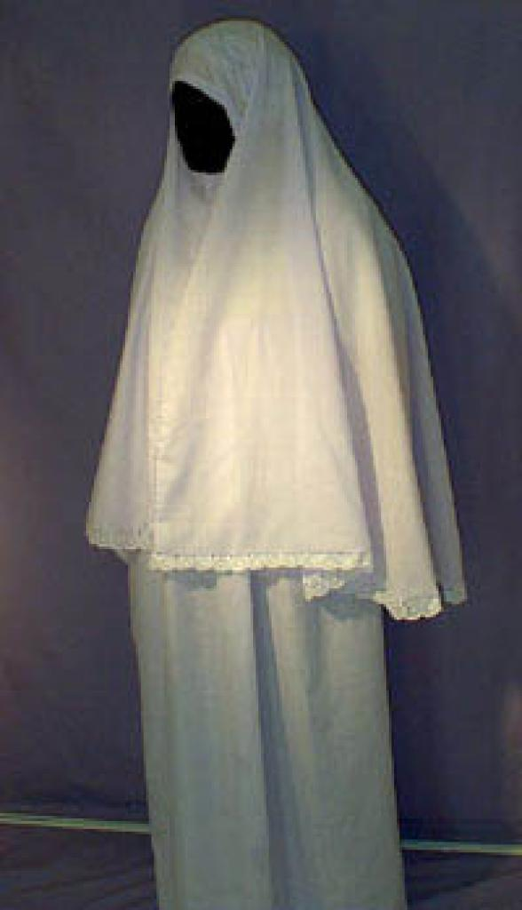 White Prayer Outfit  ps101