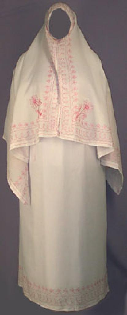 Embroidered Syrian Prayer Outfit ps103