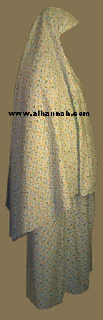 Floral Print Prayer Outfit  ps300