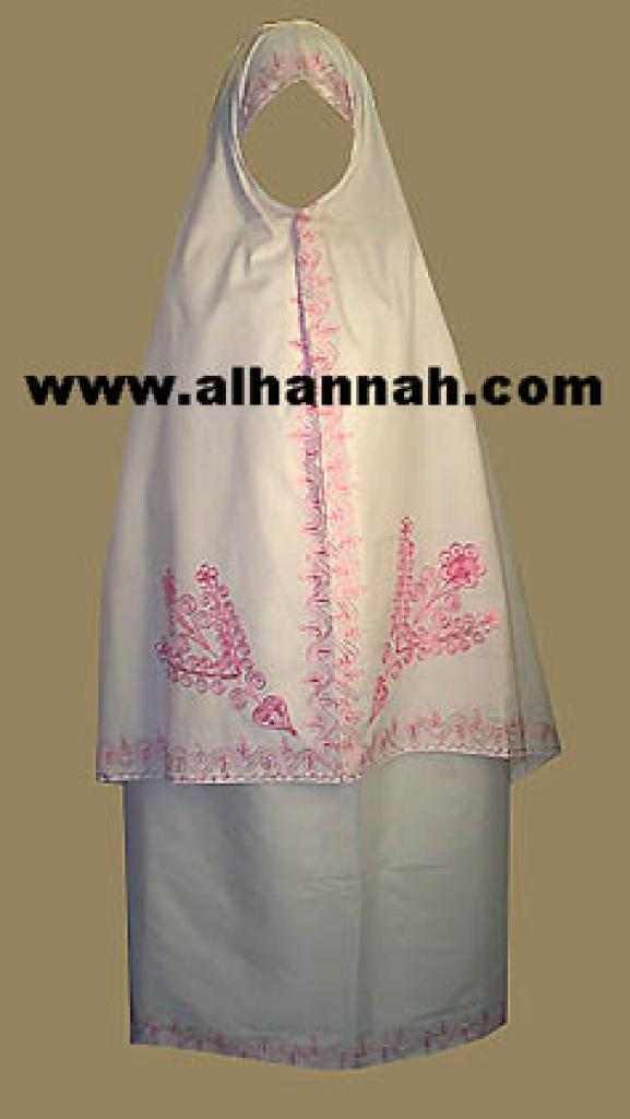 Embroidered Prayer Outfit ps301