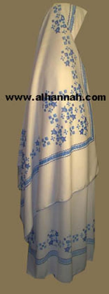 Cross Stitch Style Print Prayer Outfit ps303