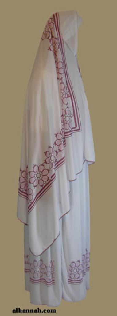 Floral Printed Prayer Outfit   ps318