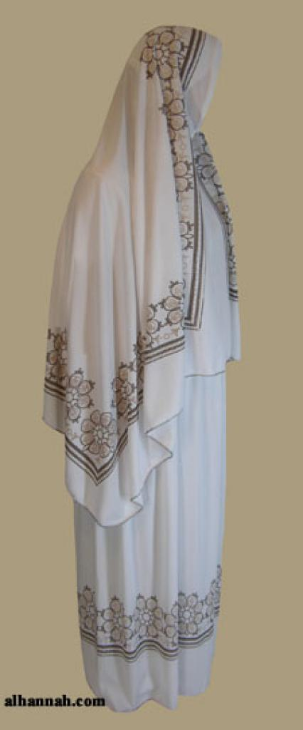Floral Printed Prayer Outfit   ps322