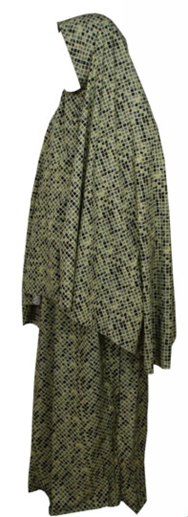 Womens Check Pattern Prayer Outfit ps339