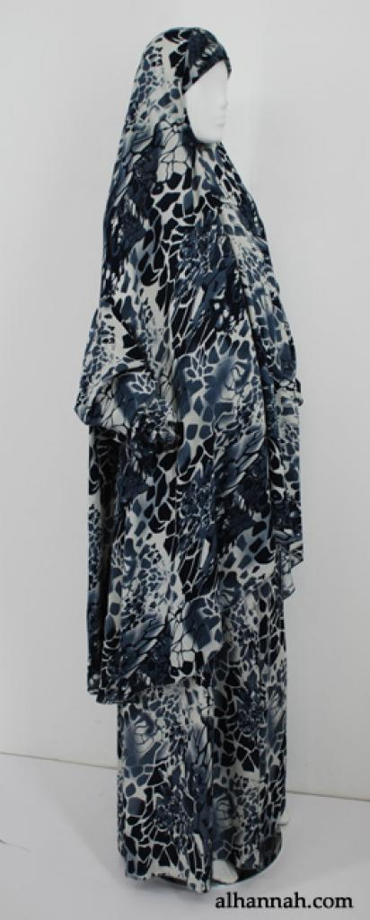 Printed Pull-Over Prayer Outfit  ps376