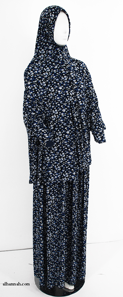 Deluxe Printed 2 Piece Prayer Outfit ps382