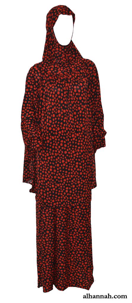 Cheetah Print Prayer Outfit ps389