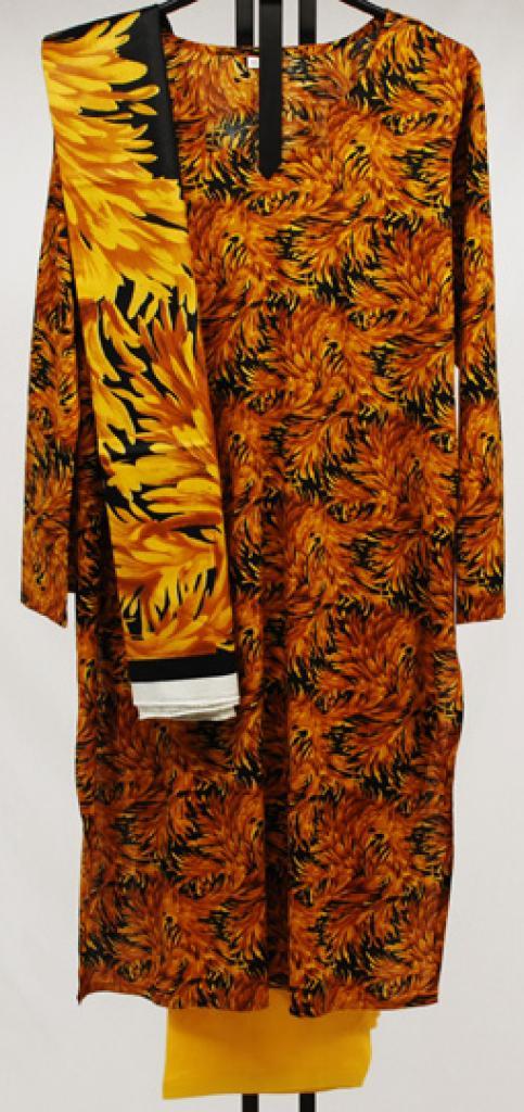 Autumn Breeze Printed Cotton Salwar Kameez sk1036