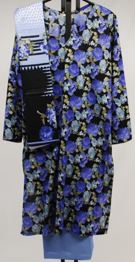 Floral Blossom Printed Cotton Salwar Kameez sk1037