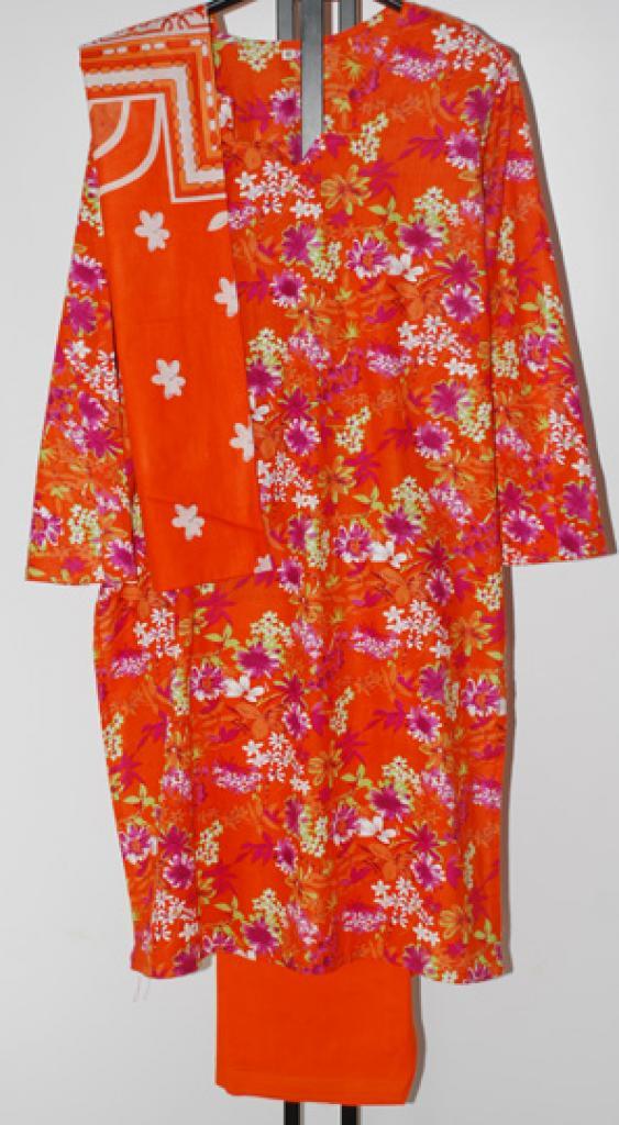 Festive Floral Print Cotton Salwar Kameez sk1066