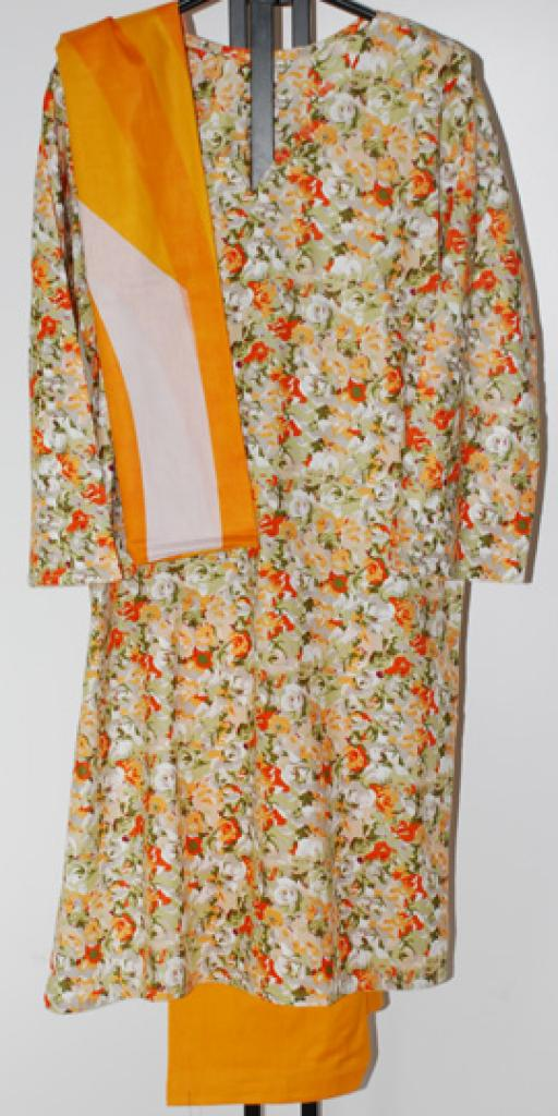 Floral Petals Cotton Salwar Kameez  sk1073