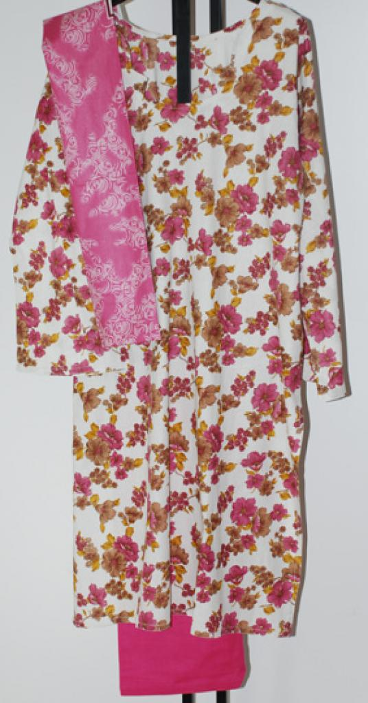 Pink Flowers Salwar Kameez sk1082