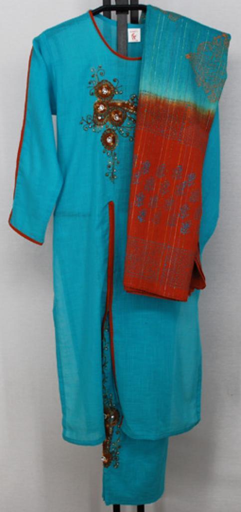 Petite Embroidered Salwar Kameez sk1118