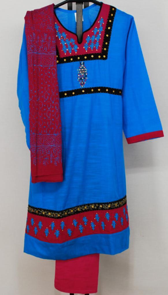 Petite Embroidered Salwar Kameez  sk1120