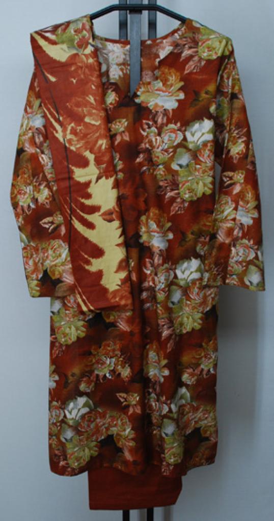 Tropical Floral Print Cotton Salwar Kameez sk1133