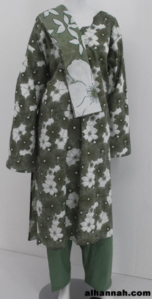 Primrose Bloom Print Cotton Salwar Kameez  sk1150