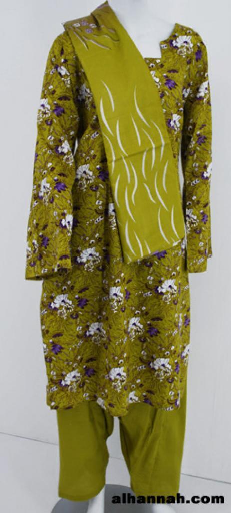 Wildflower Bloom Print Cotton Salwar Kameez sk1152