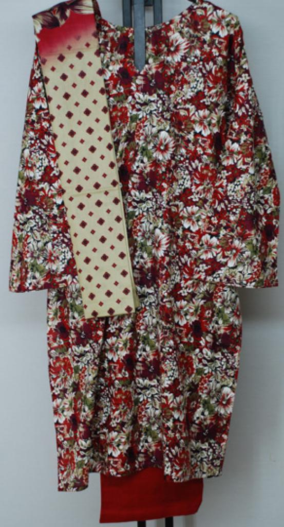 Summer Bloom Print Cotton Salwar Kameez sk1156
