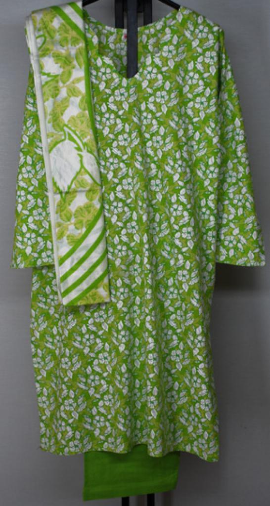 Apple Blossom Print Cotton Salwar Kameez sk1159